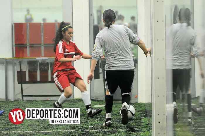 Mexico-FC Chicago-Copa Rosada-Liga San Francisco Femenil Indoor