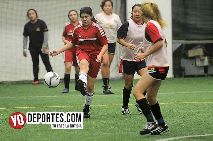 Mexico-FC Chicago-Copa Rosada-Liga San Francisco Femenil