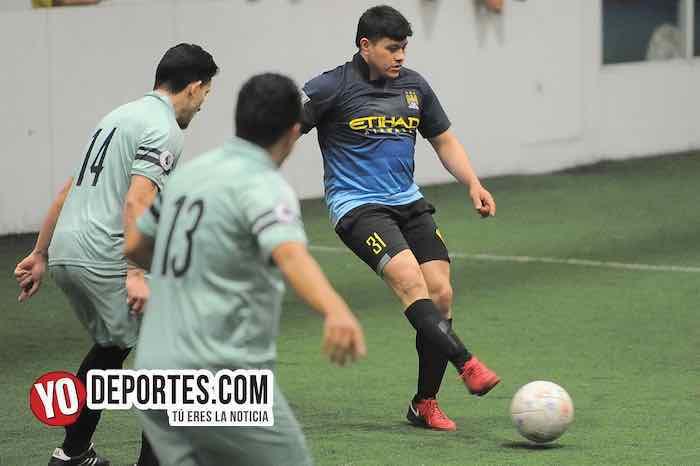 Monarcas-Deportivo Valle-Chitown Futbol-sabado Indoor