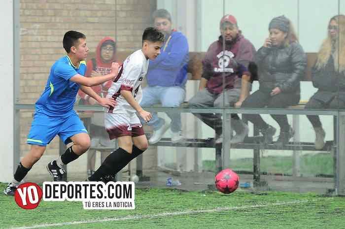 Real Sociedad-Deportivo La Puerta-Liga San Francisco Kids Chicago Indoor