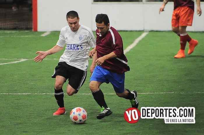 Sharks-Morelos-Chitown Futbol-Veteranos indoor