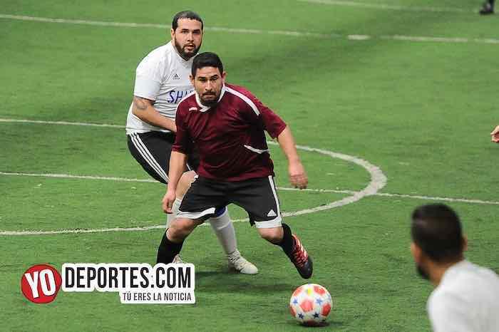 Sharks-Morelos-Chitown Futbol-Veteranos juego de vuelta