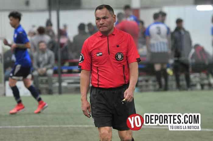 Arbitro Armando Ortega-La Bamba-Pilsen-Liga 5 de Mayo