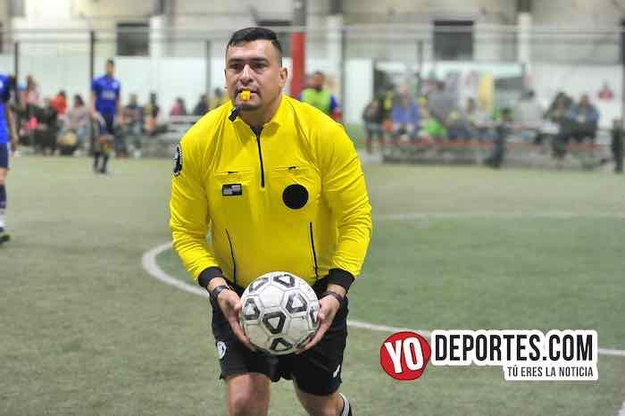 Arbitro Guillermo Caballero-La Bamba-Deportivo Cuamio-Liga 5 de Mayo