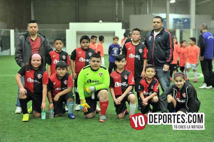 Atlas da la bienvenida al Real Tacuba en Liga San Francisco Kids