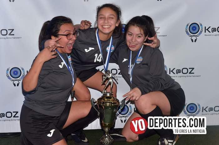 CD Vagos-Final Femenil Liga Interamericana