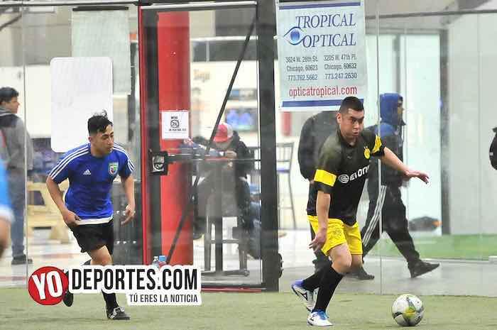 Caracuaro-Poblado-Liga 5 de Mayo chicago soccer futbol indoor