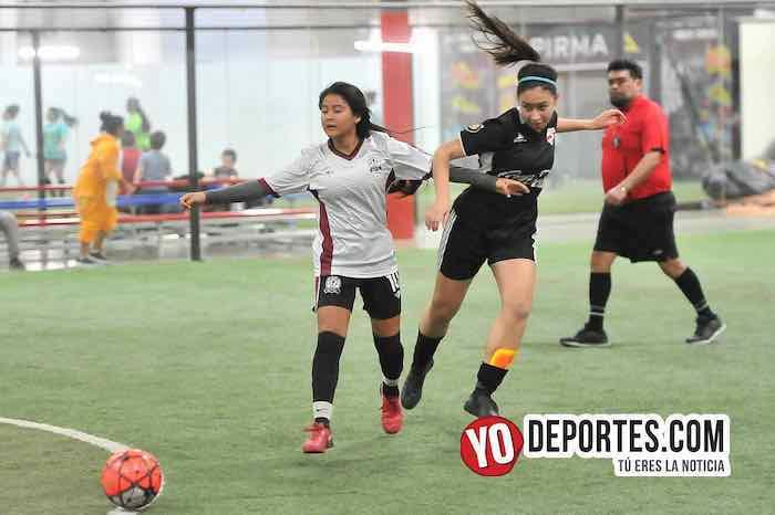 Chicago Real FC-Fenix FC-AKD Soccer League futbol femenil