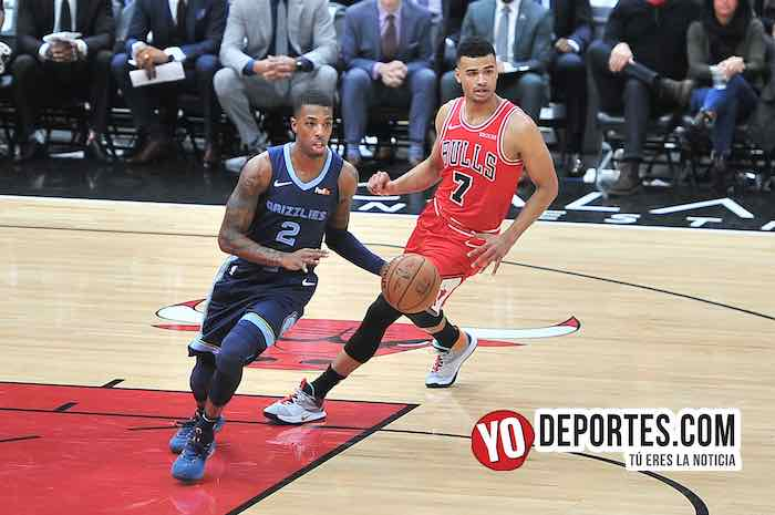 Delon Wright-Timothe Luwawu- Cabarrot-Chicago Bulls-Memphis Grizzlies