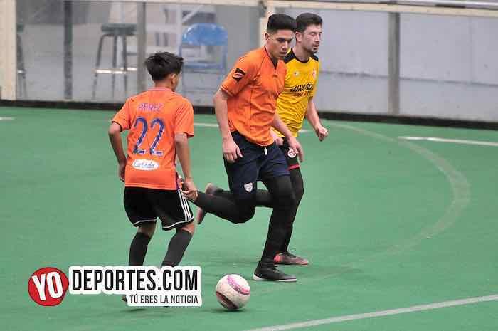 Jirosto del Oro-Valle de Juarez-Hispano Soccer League Indoor Odeum Villa Park
