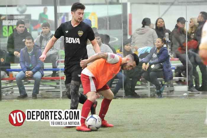 Johnny Fuentes-Jose Garcia Messi-Boca Jr-Sahuayo-Champions Liga Latinoamericana
