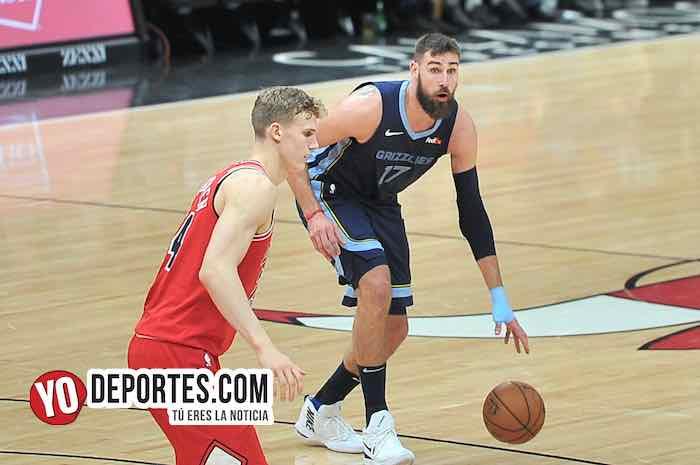 Jonas Valanciunas-Chicago Bulls-Memphis Grizzlies
