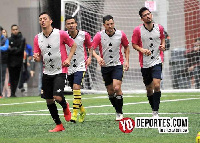 El Charal, Negro Sandoval, Pato Barroche y Víctor Pineda hundieron al Boca Jr.