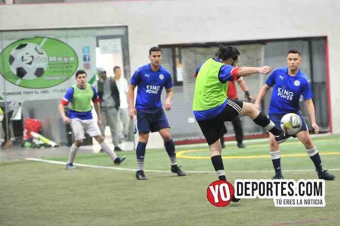 La Bamba-Deportivo Cuamio-Liga 5 de Mayo soccer indoor
