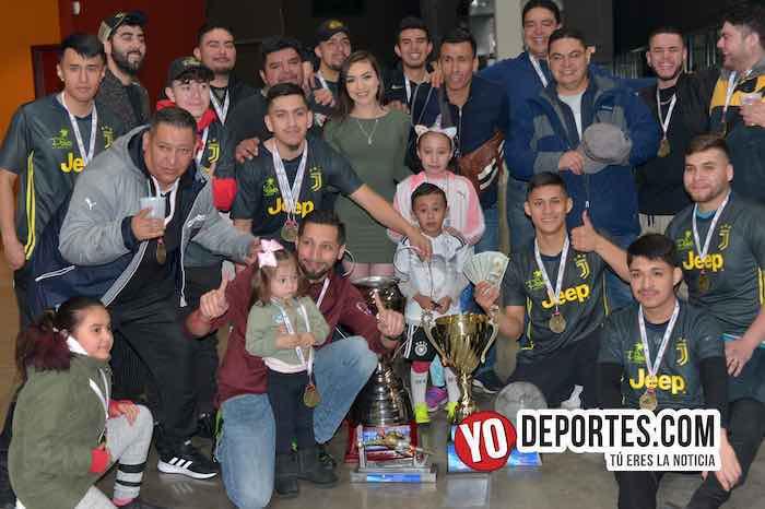 La Palma-campeon Champions de los Martes-Liga San Francisco