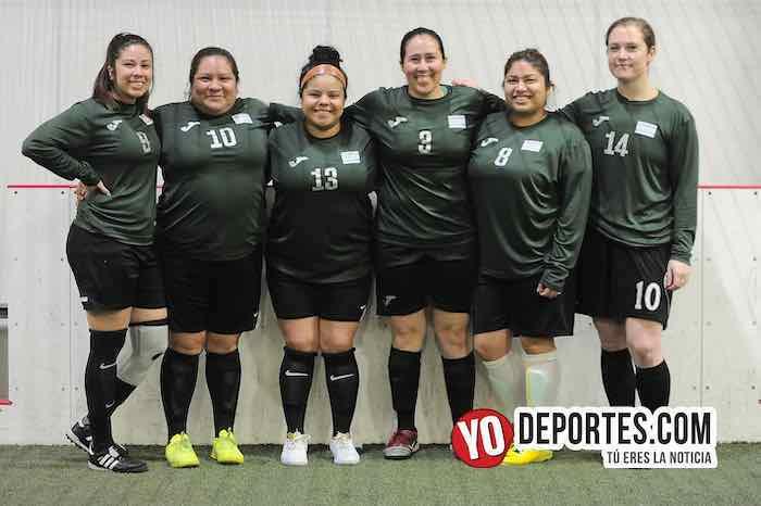 Las Borrachas se fueron en blanco en AKD Soccer League