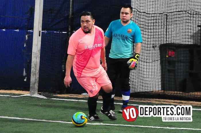 Las Palmas-Jerahuaro-Liga Taximaroa Martes Chicago Futsal