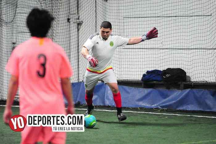 Las Palmas-Jerahuaro-Liga Taximaroa Martes en Chicago Futsal Academy