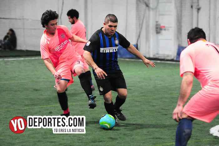 Las Palmas-Jerahuaro-Liga Taximaroa Martes indoor soccer