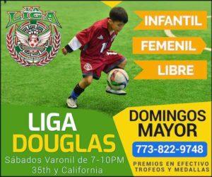 Liga Douglas Kids y Femenil abre inscripciones para todas las categorías