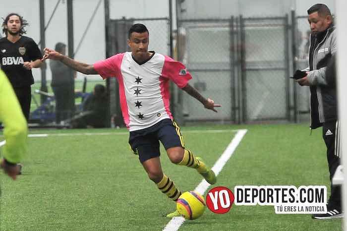 Luis El Negro Sandoval-La Palma-Boca Jr-Champions de los Martes-Liga San Francisco