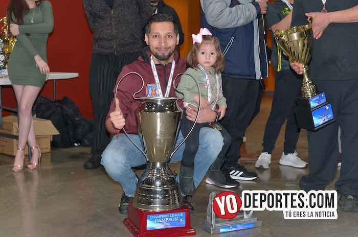 Rudy Gonzalez-La Palma-Boca Jr-Champions de los Martes-Liga San Francisco Chicago