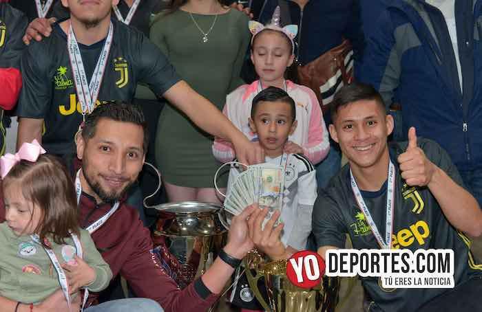 Rudy Gonzalez-La Palma-Boca Jr-Champions de los Martes-Liga San Francisco