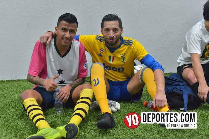 Rudy Gonzalez-Luis El Negro Sandoval-La Palma-Boca Jr-Champions de los Martes-Liga San Francisco