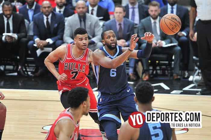 Timothe Luwawu Cabarrot-CJ Miles-Chicago Bulls-Memphis Grizzlies
