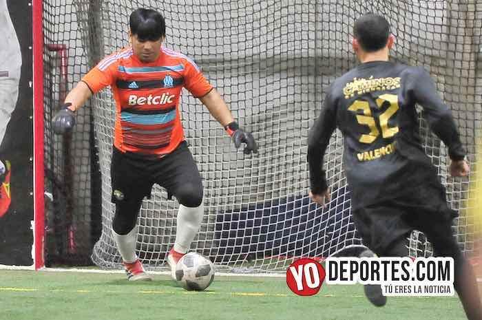 Valencia-Aztecas FC-Champions Liga Latinoamericana Chicago Indoor Sports