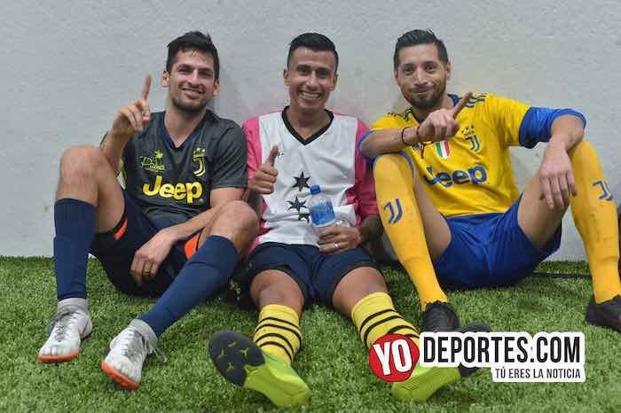 Victor Pineda-Luis El Negro Sandoval-Rudy Gonzalez-La Palma-Boca Jr-Champions de los Martes-Liga San Francisco