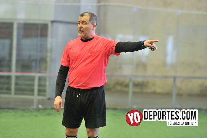 Arbitro Alex Ruiz-Las Matildas-Santitas-Liga Douglas Femenil Infantil
