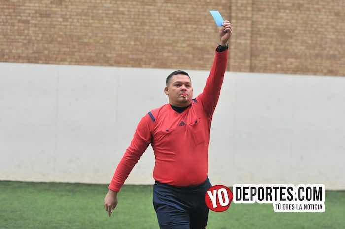 Arbitro Danilo Caballero-Morelitos-Deportivo Oro-Liga Jalisco-Veteranos