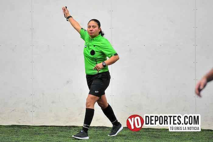 Arbitro Rosalba Luna-Deportivo Trujillo-Mayamil-Supercopa de los Martes Liga Douglas