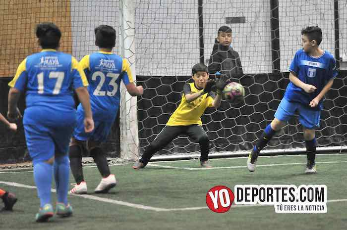Atletic-Boca Jr-Liga Guerrerense-Rauner Family Chicago YMCA Futbol indoor
