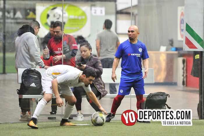 Cariocas-Cuervos Negros-Liga 5 de Mayo Chicago Indoor Sports Pershing