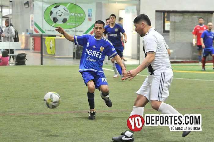 Cariocas-Cuervos Negros-Liga 5 de Mayo Futbol Indoor Chicago