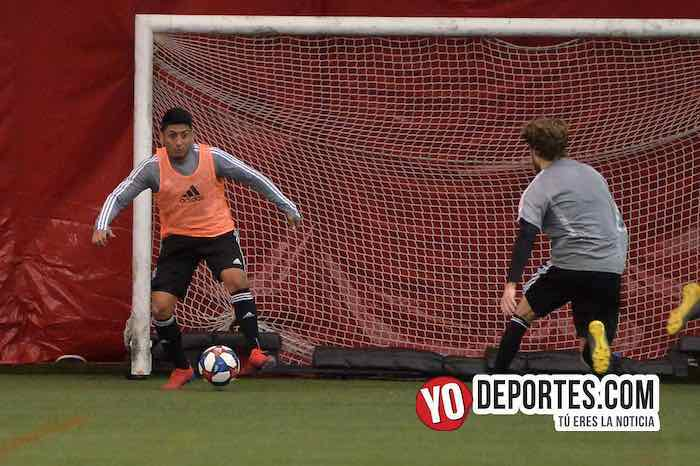 Chicago Fire-Practica-Fire Pitch MLS