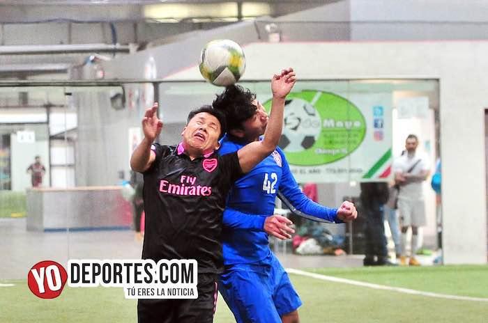 Deportivo Azul y Arsenal no se hicieron daño en la Liga 5 de Mayo