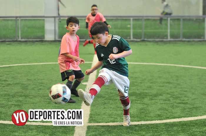 Deportivo Oro-Douglas Kids-Liga Douglas futbol Chicago Sports Complex