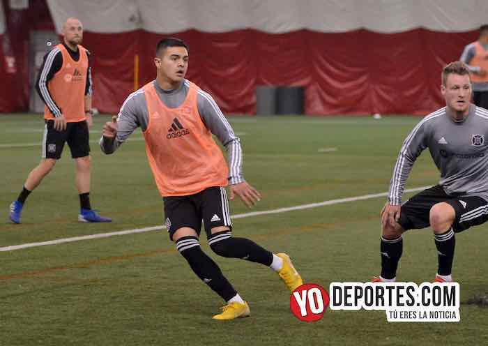 Diego Campos-Chicago Fire-Practica-Fire Pitch
