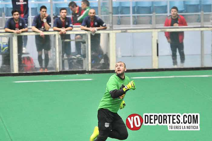 Eder Patino-gol de portero a portero Mexcaltepec-Tierra Caliente-Hispano Soccer League veteranos