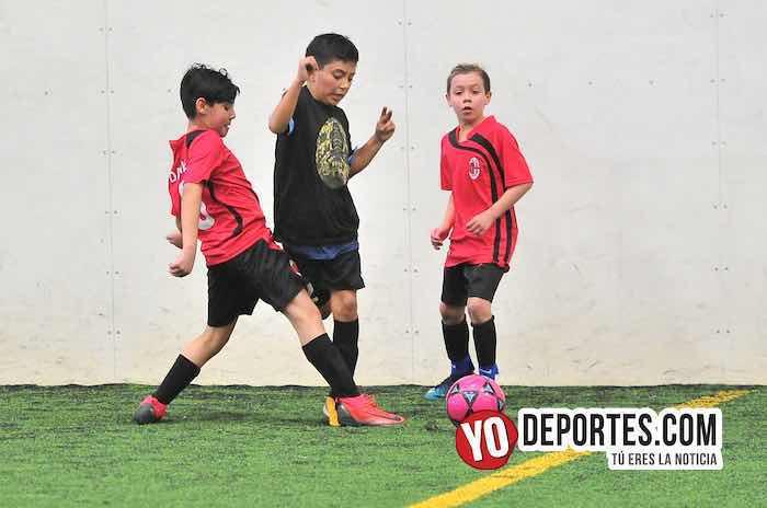 FC Milan-Manchester-Liga Douglas Kids Futbol Chicago Sports Complex