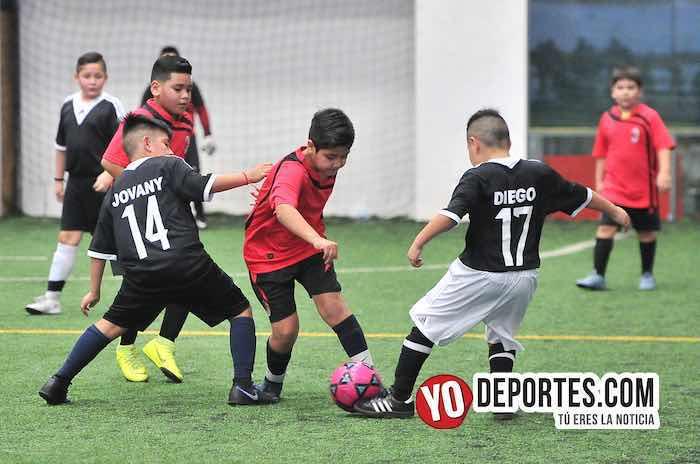 FC Milan-Manchester-Liga Douglas Kids Soccer League
