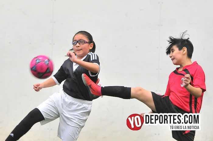 FC Milan-Manchester-Liga Douglas Kids