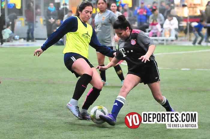 El Fire quemó a las Tigres en la Liga 5 de Mayo Femenil