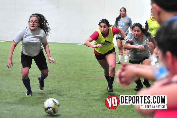 Fire-Tigres-Liga 5 de Mayo Femenil Chicago Indoor Sports