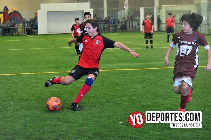 La Puerta-Fire Evolution-Liga Douglas Kids Futbol indoor