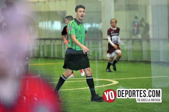 La Puerta-Fire Evolution-Liga Douglas Kids arbitro indoor
