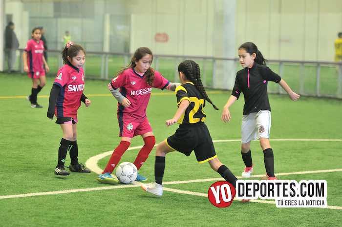Las Matildas-Santitas-Liga Douglas Femenil Infantil